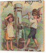 Father Tucks Nursery Rhymes Wood Print