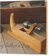 Fathers Day Tools Wood Print