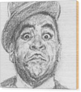 Fats Waller Wood Print