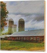 Fay Farm Wood Print