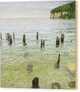 Fayette State Park Shoreline Wood Print