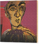Fayoum Portrait II Wood Print