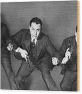 Fbi Agent, 1945 Wood Print