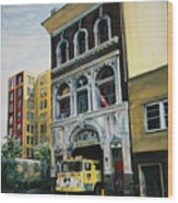 FDNY  Engine Company 41 Wood Print