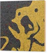 Fear Wood Print