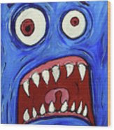 Fear-potentiated Startle Wood Print