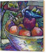 February Still Life In Angelinas Kitchen 3 Wood Print