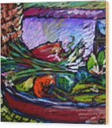 February Still Life In Angelinas Kitchen 5 Wood Print