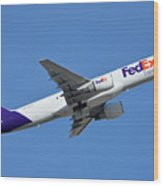 Fedex Express Boeing 757-230 N998fd Phoenix Sky Harbor January 19 2016  Wood Print