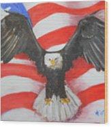 Feeling Patriotic Wood Print
