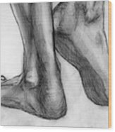 Feet Wood Print