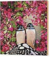Feet Around The World #18 Wood Print