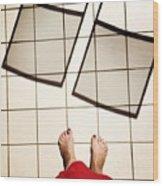 Feet Around The World #28 Wood Print