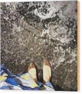 Feet Around The World #6 Wood Print