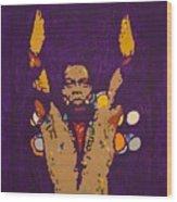 Fela Live Wood Print