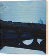Felini S Rome  Wood Print