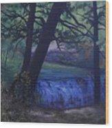 Felkers Falls, Stoney Creek, On Wood Print