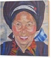 Fellow Traveller Great Wall Wood Print