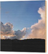Felton Sunset Wood Print