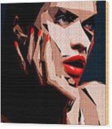 Female Expressions Liv Wood Print
