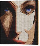 Female Expressions Lvi Wood Print