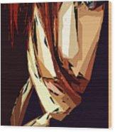 Female Expressions Xiii Wood Print