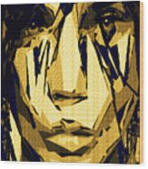 Female Expressions Xlvi Wood Print
