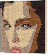 Female Expressions Xlviii Wood Print