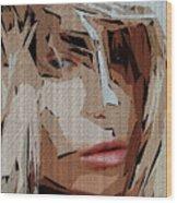 Female Expressions Xx Wood Print