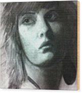 Female Portrait Wood Print