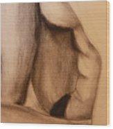Female Study Wood Print