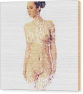 Female Torso #15 Wood Print