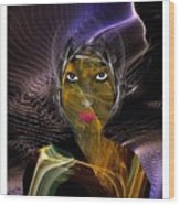 Femme Du Centaure Wood Print