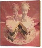Femme Fruit Cake Wood Print