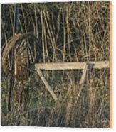 Fence Row Wood Print