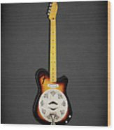 Fender Reso-tele Wood Print