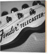 Fender Telecaster Wood Print