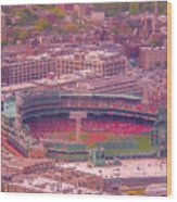 Fenway Park - Boston Wood Print