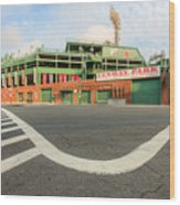 Fenway Park IIi Wood Print by Clarence Holmes
