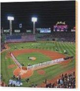 Fenway Park World Series 2013 Wood Print