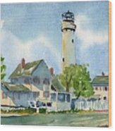 Fenwick Island Lighthouse Wood Print