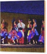 Feria Dance Wood Print