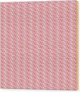Fermat Spiral Pattern Effect Pattern Red Wood Print