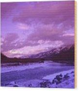 Fernie British Columbia  Wood Print
