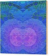 Ferns 2j Hotwax 3 Mirror Wood Print