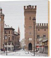 Ferrara Wood Print by Andre Goncalves
