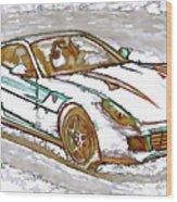 Ferrari 1 Wood Print