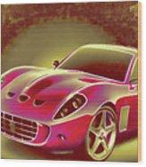 Ferrari 13 Wood Print