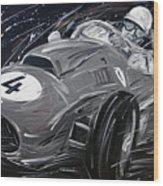 Ferrari 1958 Hawthrorn Wood Print