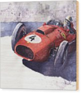Ferrari 246 Mike Hawthorn Wood Print